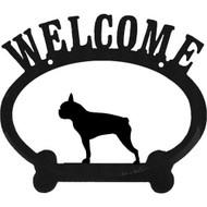 Sweeney Ridge Oval Welcome Sign
