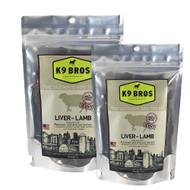 K9 BROS Lamb Liver Jerky