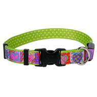 Yellow Dog Design Crazy Hearts Orion LED Collar