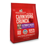 Stella and Chewys Turkey Carnivore Crunch Treats