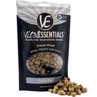 Vital Essentials Freeze Dried Rabbit Treats 2oz