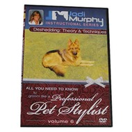 Deshedding Theory and Techniques DVD by Jodi Murphy