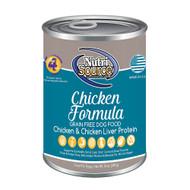NutriSource Grain Free Chicken Recipe Canned Food