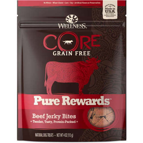 Wellness Core Pure Rewards Beef Jerky