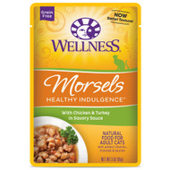 Wellness Healthy Indulgence Morsels Chicken and Turkey Cat Formula