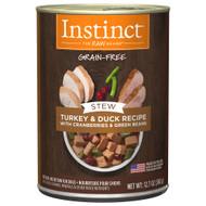 Natures Variety Dog Stew Turkey & Duck 12.7oz - Case of 6