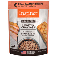 Natures Variety Healthy Cravings Salmon Cat Pouch - Case of 24