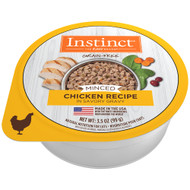 Natures Variety Minced Cup Chicken 3.5oz - Case of 12