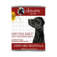 Daves Restricted Diet Dog Food Chicken Dinner