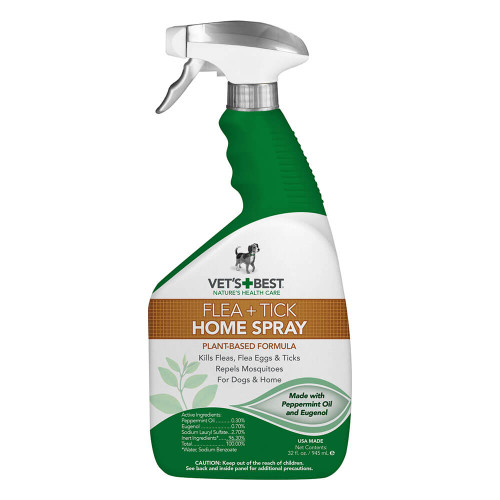 Vets Best Flea Tick Home Spray 32oz
