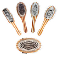 BASS Wire Pin and Wild Boar Bristle Brushes