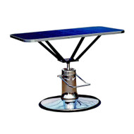 Champagne Round Base Hydraulic Table