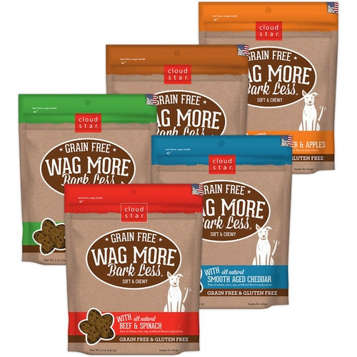 Cloud Star Wag More Grain Free Soft and Chewy Dog Treats