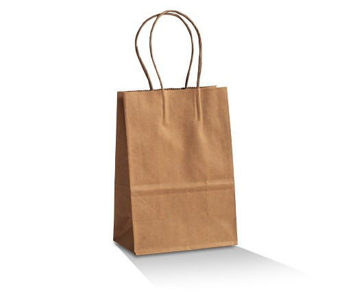 Plain Brown Kraft Loot Bag