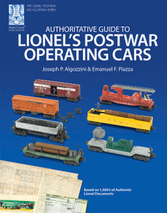 Authoritative Guide to Lionel's Postwar Operating Cars (Soft Cover Shelf Worn)