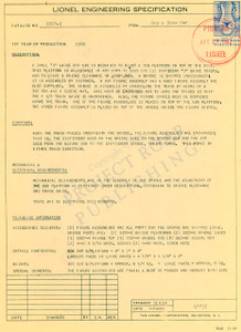 3357-1 Cop and Hobo Car Engineering Specification