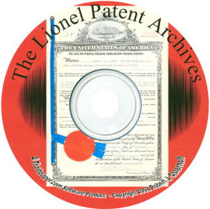 The Lionel Patent Archives CD - The Companion To Inside The Lionel Trains Fun Factory