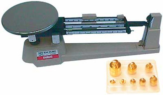 Triple Beam Balance/Scale & Weights