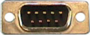 D-Sub Mini Connector, 9-pin M