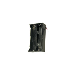 Plastic Battery Holder - D, 4