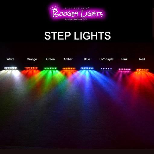 All Step Light Color Options