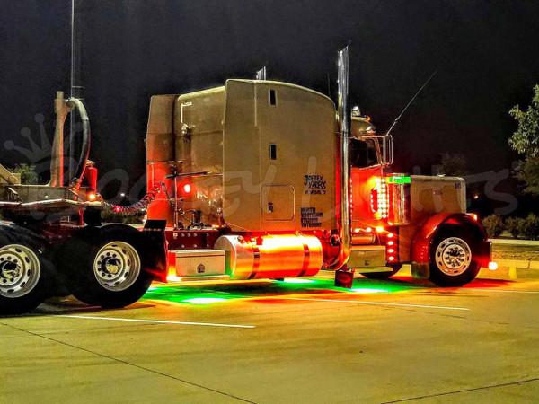 Semi-Truck 96 LED Accent Lighting Kit - Single Color