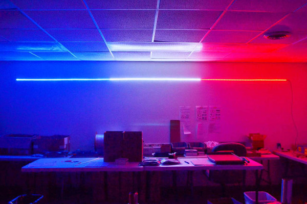 Red, White and Blue Hi-Intensity LED Strip