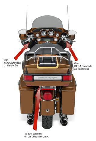 Vista posteriore Ultra Classic