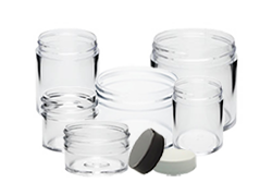 Clear Plastic Jars with Lids