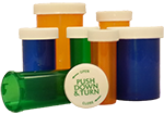 Child Resistant Prescription Pill Bottles and Vials