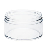 6 oz Clear Plastic Jar THICK WALL6-89-TW-CPS