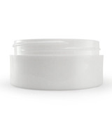 2 oz White Plastic Jar THICK WALL 2-70-TW-WPP
