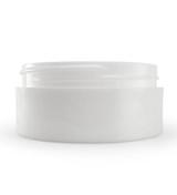 2 oz White Plastic Jar THICK WALL 2-70-TW-WPP