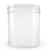 4 oz Clear Plastic Jar REGULAR WALL 4-58-CPS
