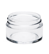 1/2 oz Clear Plastic Jar Thick Wall 1/2-43-TW-CPS