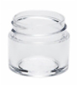 1/4 oz Clear Plastic Jar Thick Wall 1/4-33-TW-CPS