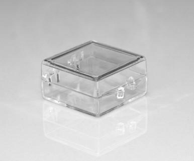 """Hinged Lid Box - 1"""" x 1"""" x 1/2"""""""