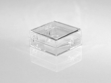 1 1 4 X 1 1 4 X 1 2 Small Plastic Box With Hinged Lid 120