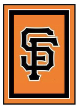 """San Francisco Giants Logo Crochet Graph Afghan Pattern.  All done in single crochet, changing colors as you go along.  Drop one color, pull in the next.  Medium ability.  Size works up to be approx. 50 x 70"""".  Graph is 100 stitches wide by 140 stitches high.  Then you crochet 22 rows (or more) around the outside edge including a border, if you would like it larger.  Complete instructions are included, a full size graph, and a Helpful Hints page. DOWNLOAD will come to you in an email within 20 minutes of placing order: OR EMAIL ME IF YOU WANT IT MAILED."""