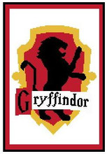 """Gryffindor Shield Crochet Afghan Graph Pattern.  All done in single crochet, changing colors as you go along.  Drop one color, pull in the next.  Medium ability.  Size works up to be approx. 50 x 70"""".  Graph is 105 stitches wide by 145 stitches high.  Then you crochet 22 rows (or more) around the outside edge including a border.  Complete instructions are included, a full size graph, and a Helpful Hints page. DOWNLOAD WILL BE EMAILED TO YOU WITHIN 20 MINUTES OF PLACING YOUR ORDER.  OR, IF YOU'D RATHER HAVE IT MAILED TO YOU, EMAIL JANET.  ENJOY!"""