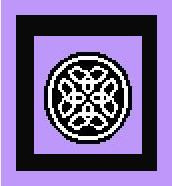 """Celtic Crochet Afghan Graph Pattern.  All done in single crochet, changing colors as you go along.  Drop one color, pull in the next.  Medium ability.  Size works up to be approx. 40 x 60"""".  Graph is 64 stitches wide by 104 stitches high.  Then you crochet 22 rows (or more) around the outside edge including a border.  Complete instructions are included, a fll size graph, and a Helpful Hints page. DOWNLOADABLE WHEN YOU RECEIVE THE ORDER CONFIRMATION PAGE."""
