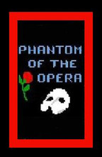 """Phantom of the Opera Crochet Afghan Graph Pattern.  All done in single crochet, changing colors as you go along.  Drop one color, pull in the next.  Medium ability.  Size works up to be approx. 40 x 60"""".  Graph is 64 stitches wide by 104 stitches high.  Then you crochet 22 rows (or more) around the outside edge including a border.  Complete instructions are included, a full size graph, and a Helpful Hints page. DOWNLOAD WILL BE SENT TO YOU WITH ORDER CONFIRMATION EMAIL.  JUST CLICK """"DOWNLOAD FILES"""".  ENJOY!"""