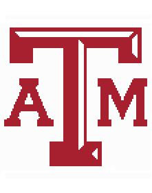 texas a m coloring pages - texas a m logo crochet afghan graph pattern downloadable