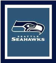 """Seattle Seahawks Logo Crochet Graph Afghan Pattern.  All done in single crochet, changing colors as you go along.  Drop one color, pull in the next.  Medium ability.  Size works up to be approx. 50 x 70"""".  Graph is 100 stitches wide by 140 stitches high.  Then you crochet 22 rows (or more) around the outside edge including a border, if you would like it larger.  Complete instructions are included, a full size graph, and a Helpful Hints page. DOWNLOAD WILL BE EMAILED TO YOU WITHIN 20 MINUTES OF ORDER.  JUST CLICK """"DOWNLOAD FILES"""".  If you'd rather have it mailed to you, email me. Enjoy!"""