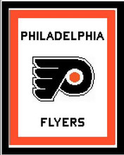 """Philadelphia Flyers Crochet Graph Afghan Pattern.  All done in single crochet, changing colors as you go along.  Drop one color, pull in the next.  Medium ability.  Size works up to be approx. 50 x 70"""".  Graph is usually 100 stitches wide by 140 stitches high.  Then you crochet 22 rows around the outside edge including a border, if you would like it larger.  Complete instructions are included, a full size graph, and a Helpful Hints page. DOWNLOAD will be emailed to you within 20 minutes of placing order. Just click on """"Download Files"""".  If you'd rather have it mailed, just email me.  Enjoy!"""