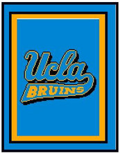 """UCLA Bruins Crochet Graph Afghan Pattern.  All done in single crochet, changing colors as you go along.  Drop one color, pull in the next.  Medium ability.  Size works up to be approx. 50 x 70"""".  Graph is usually 100 stitches wide by 140 stitches high.  Then you crochet 22 rows around the outside edge including a border, if you would like it larger.  Complete instructions are included, a full size graph, and a Helpful Hints page. DOWNLOAD WILL BE EMAILED TO YOU WITHIN 20 MINUTES OF ORDER CLOSE.  ENJOY!"""