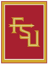 "FSU Florida State University Crochet Afghan Graph Pattern.  All done in single crochet, changing colors as you go along.  Drop one color, pull in the next.  Medium ability.  Size works up to be approx. 50 x 70"".  Graph is 100 stitches wide by 140 stitches high.  Then you crochet 22 rows (or more) around the outside edge including a border.  Complete instructions are included, a full size graph, and a Helpful Hints page. You will receive the download in 20 minutes or sooner, within your Order Confirmation.  Just click ""Download Files"" and Enjoy!"