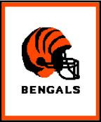 "Cincinnati Bengals Logo Graph Afghan Pattern.  All done in single crochet, changing colors as you go along.  Drop one color, pull in the next.  Medium ability.  Size works up to be approx. 50 x 70"".  Graph is usually 100 stitches wide by 140 stitches high.  Then you crochet 22 rows around the outside edge including a border, if you would like it larger.  Complete instructions are included, a full size graph, and a Helpful Hints page. DOWNLOADABLE WITH ORDER CONFIRMATION OR EMAIL ME IF YOU WANT IT MAILED TO YOU."