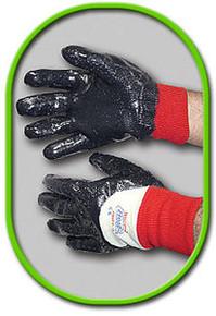 Showa Best 7000PR 09 Medium Nitri-Pro Knit Wrist Palm Coated Rough