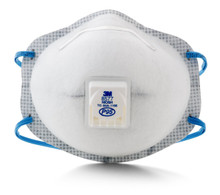Case of 8 boxes with 80 Masks 3M 8577 P95 Ov Respirator W/Valve